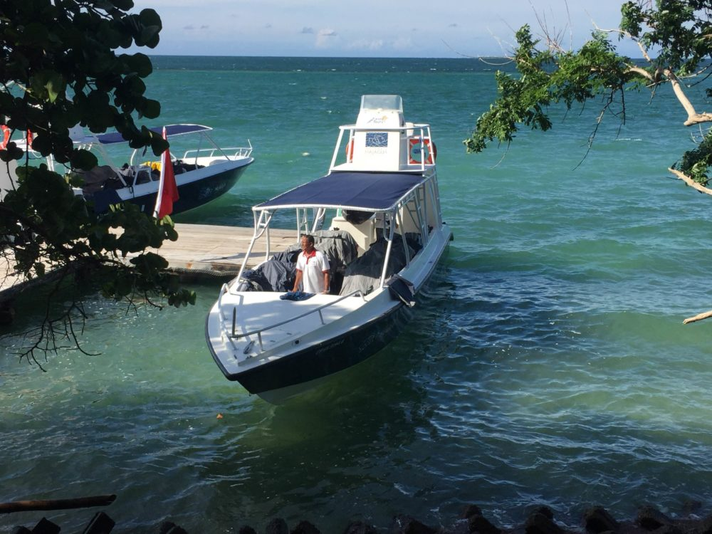 Cartagena Colombia travel tips: Transportation to and from the Rosario Islands