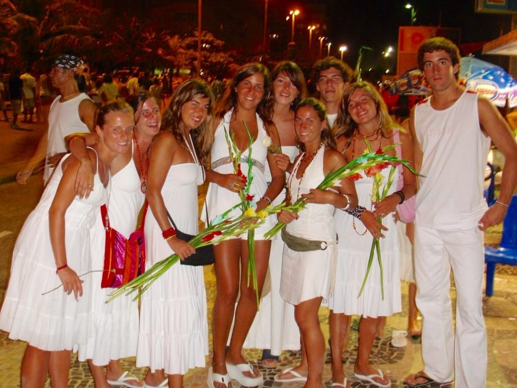 Brazilian New Year's Eve - always wear white