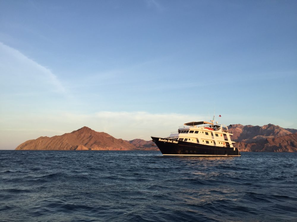 The Rocio del Mar. Our home for a week for our Sea of Cortez liveaboard