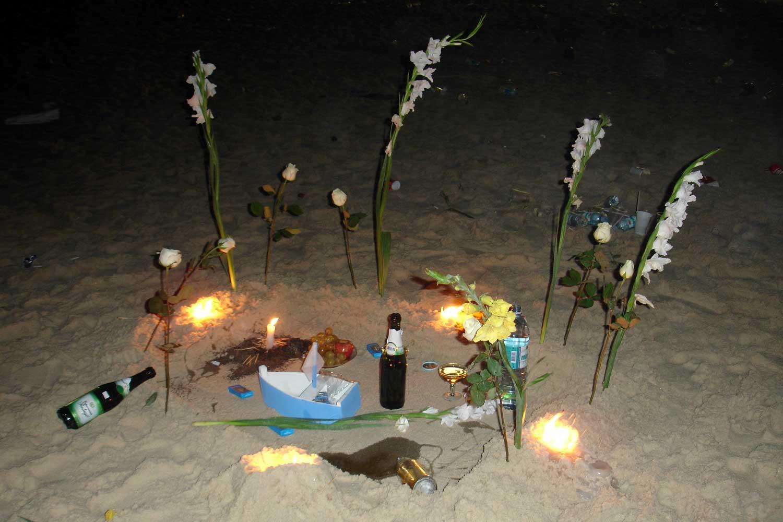 brazilian new years eve offerings