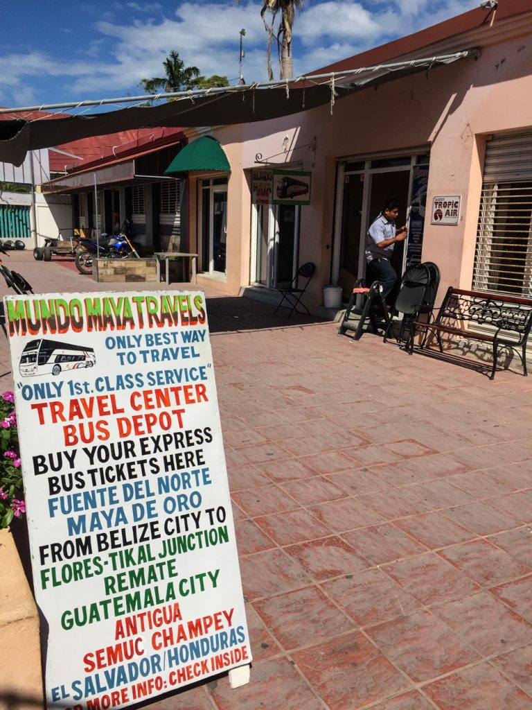 Belize City to Tikal -- Mundo Maya Travel Office