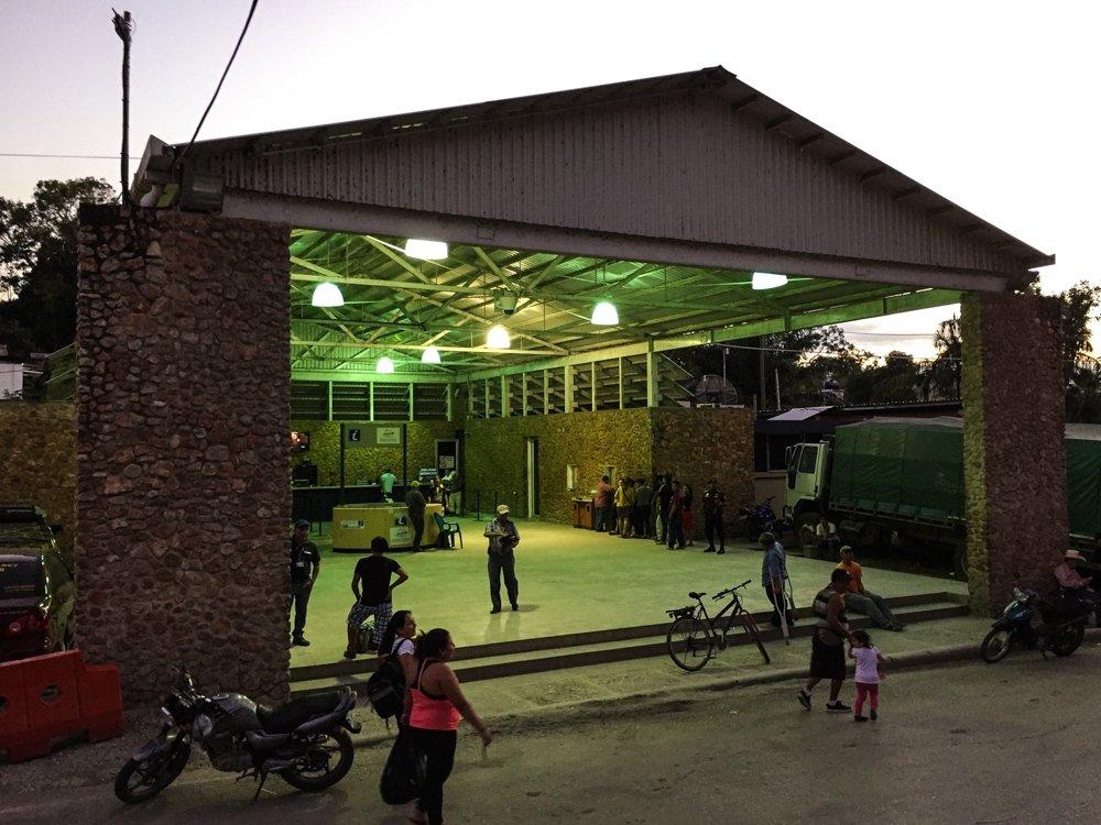 Belize City to Tikal - Guatemala immigratoion house