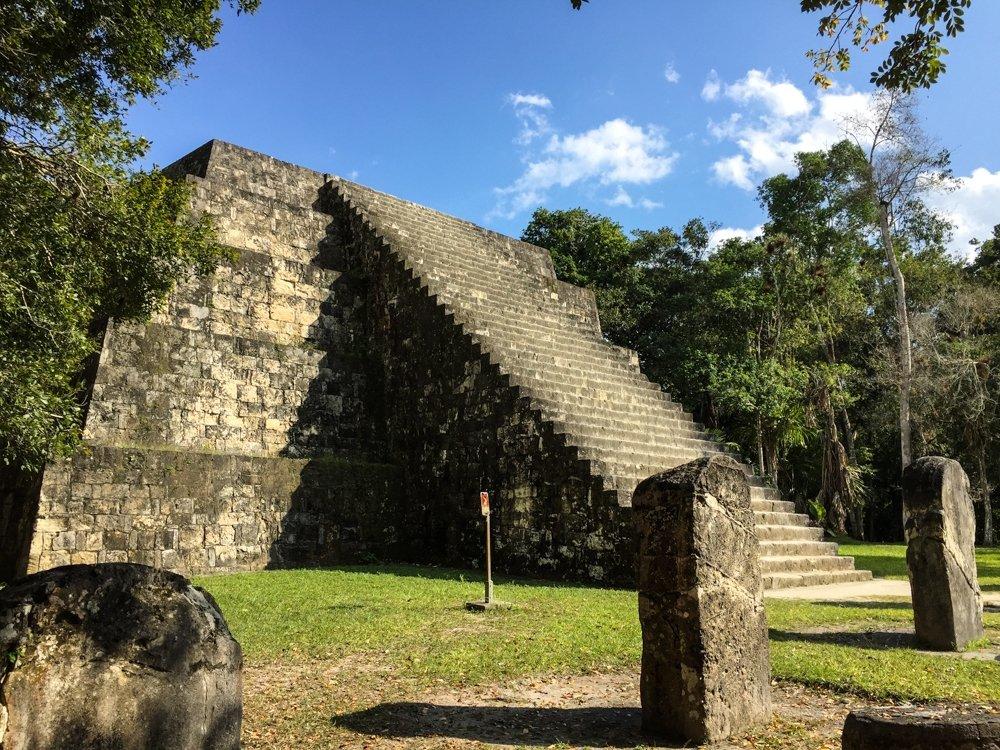Pyramid Q Complex of Tikal.