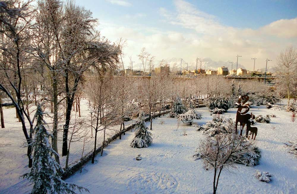 Things To Know Before You Go To Iran - Snow in Isfahan