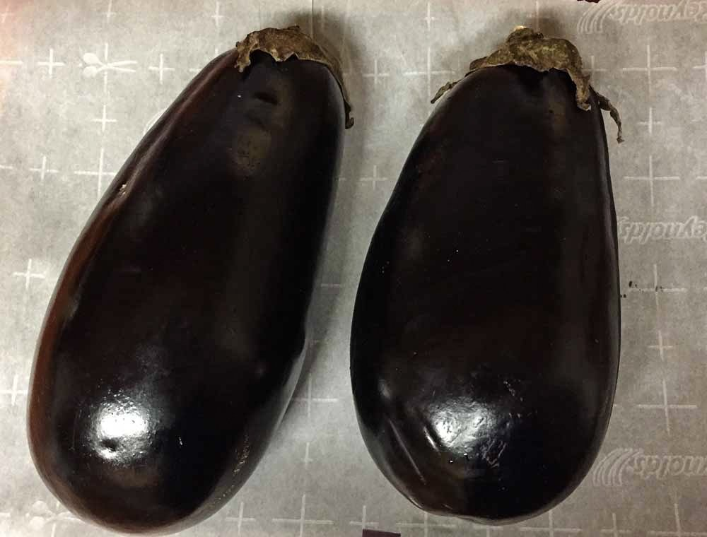 Mirza Ghasemi recipe - Ingredients - eggplant
