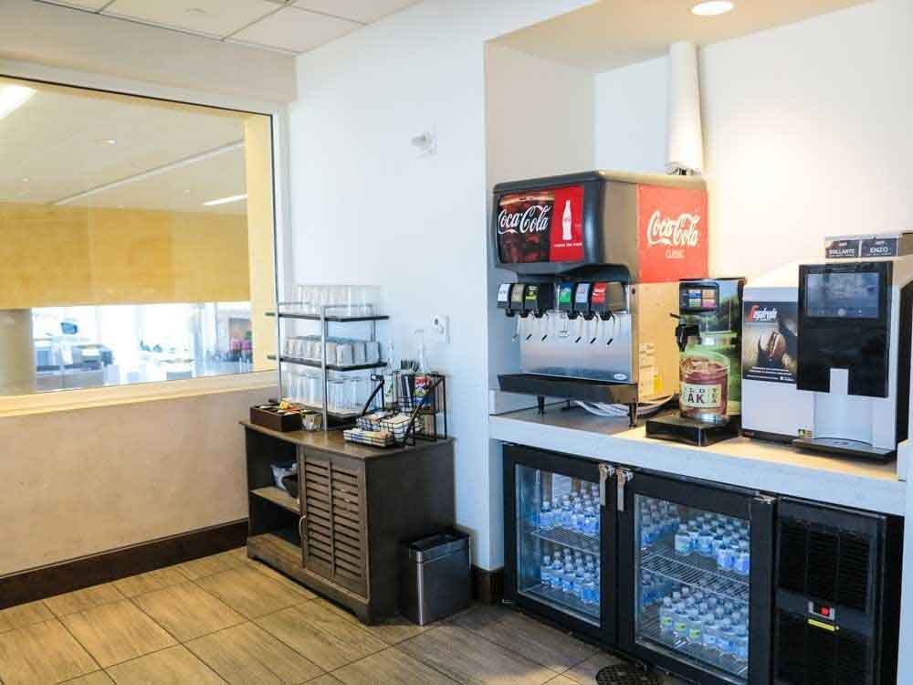 Soda and coffee machines