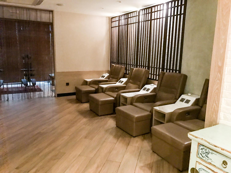 Wellness Lounge Chairs Maldives