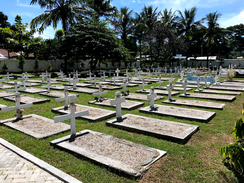 things to do in Dili - Indonesian cemetery