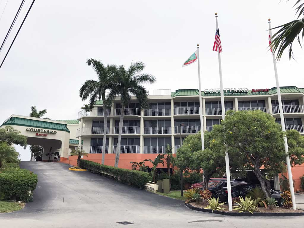 Courtyard Marriott in Key Largo