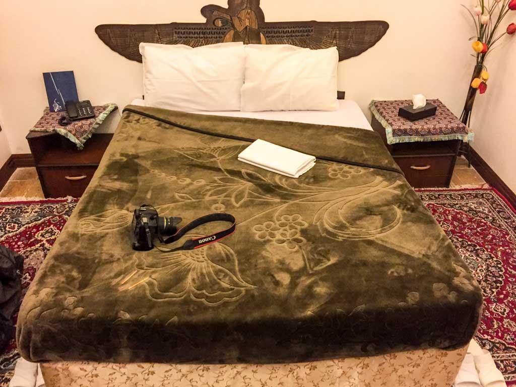 Rose hotel Yazd - My bedroom
