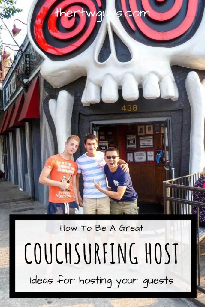 couchsurfing host pinterest