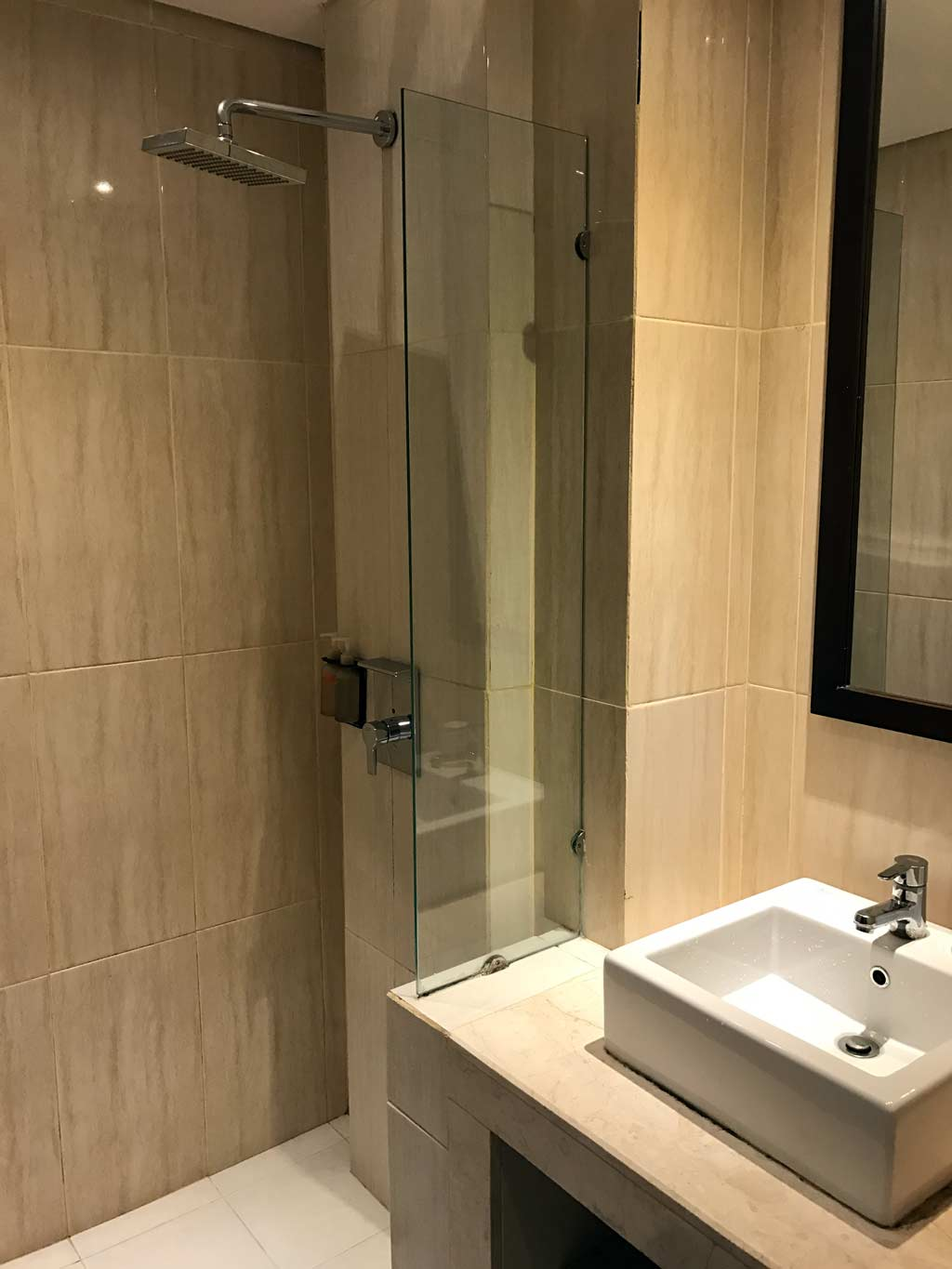 Edelweiss Boutique Hotel Kuta - Shower