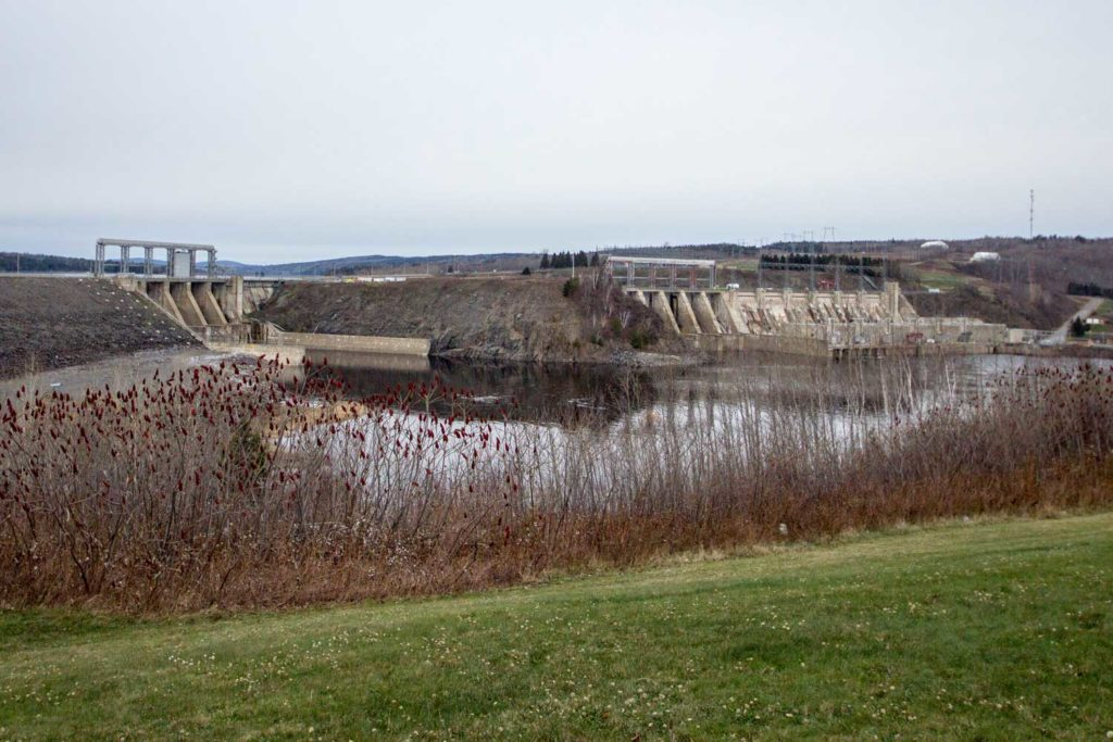 Things to do in Fredericton: Mactaquac Dam, just outside of Fredericton