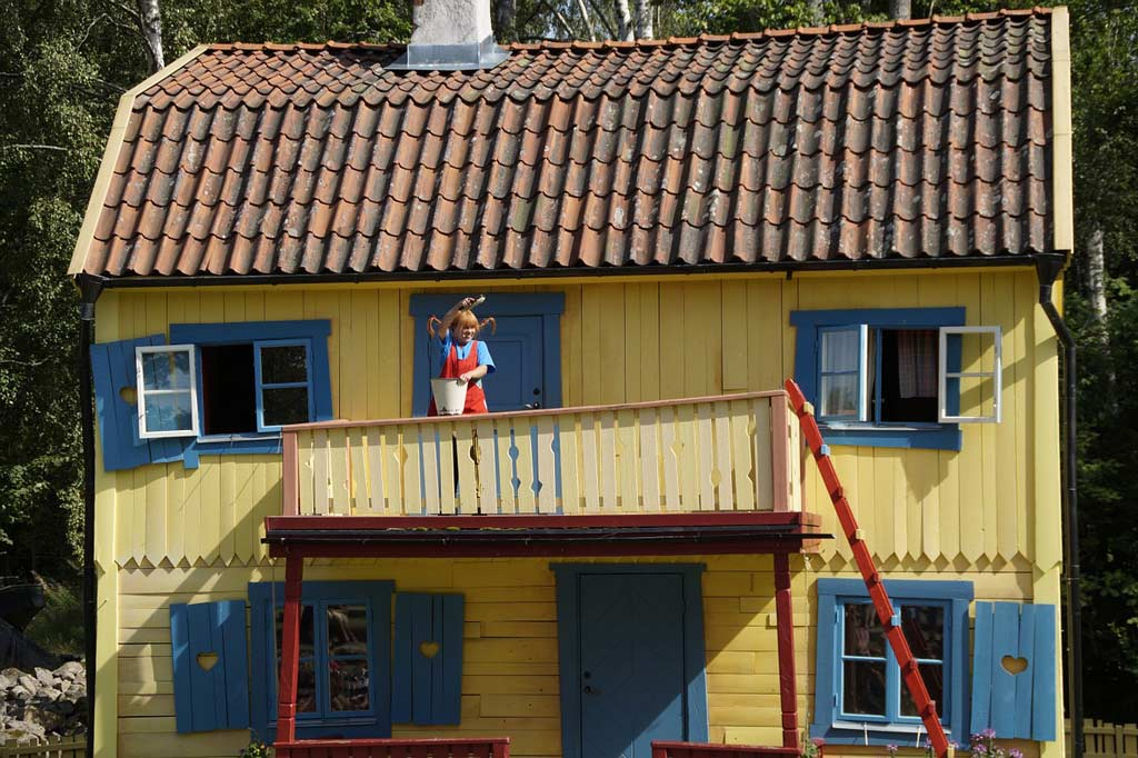 things to do in visby - Pippi Longstocking