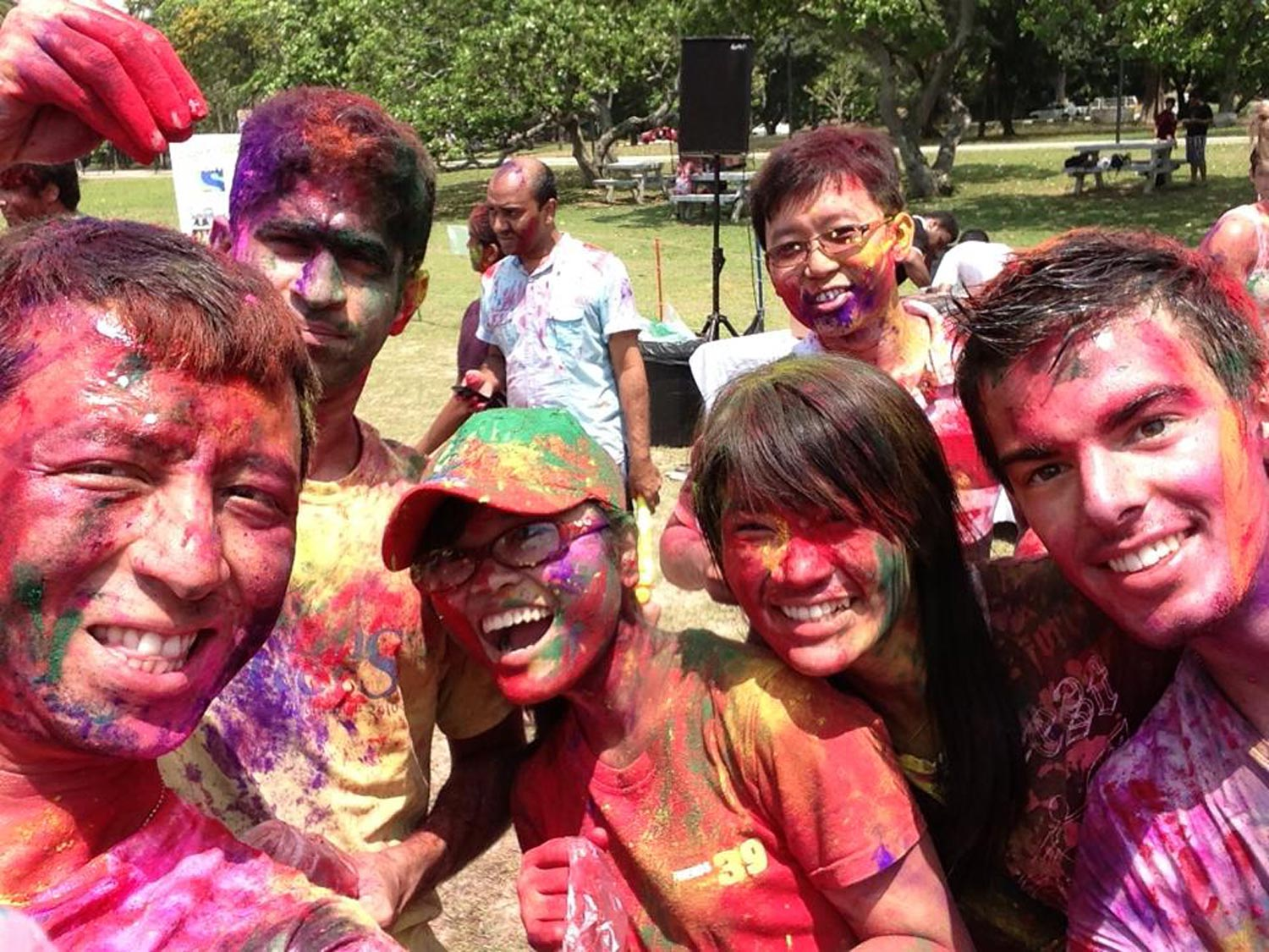 Celebrations of Holi are part of the diversity of Singapore Culture