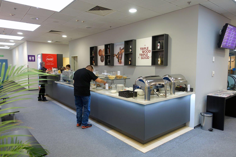business lounge kiev ukraine airport food bar