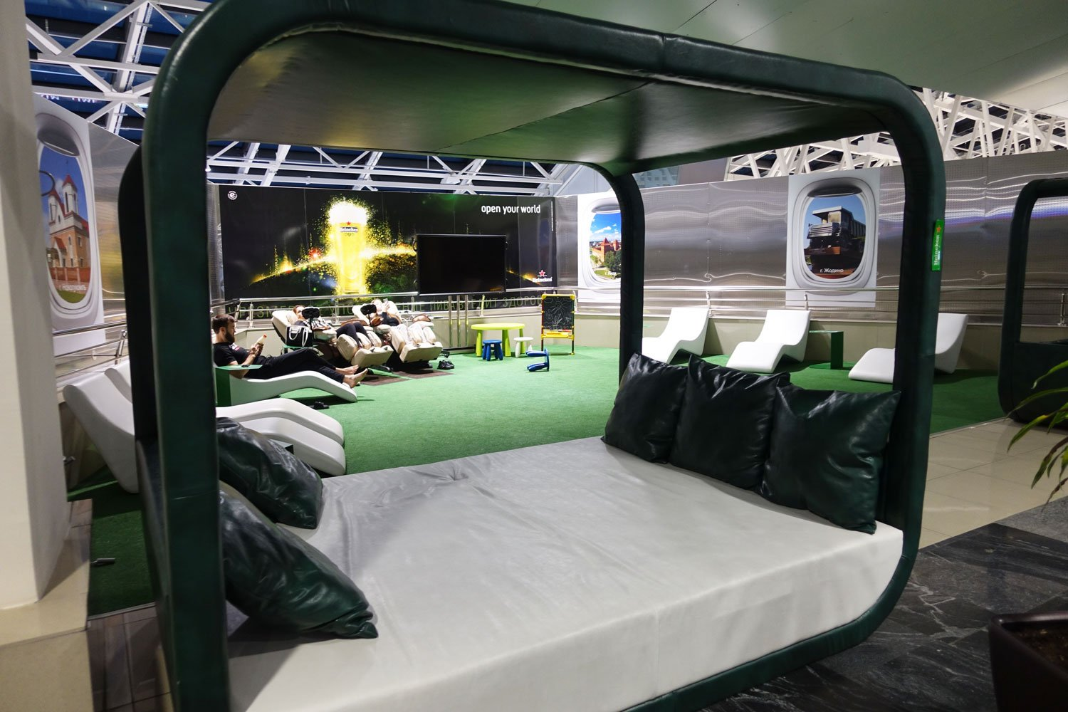 business lounge minsk day bed cabana