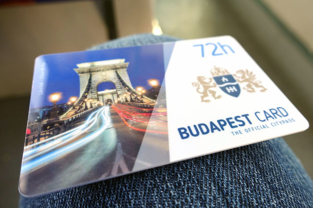 budapest card front