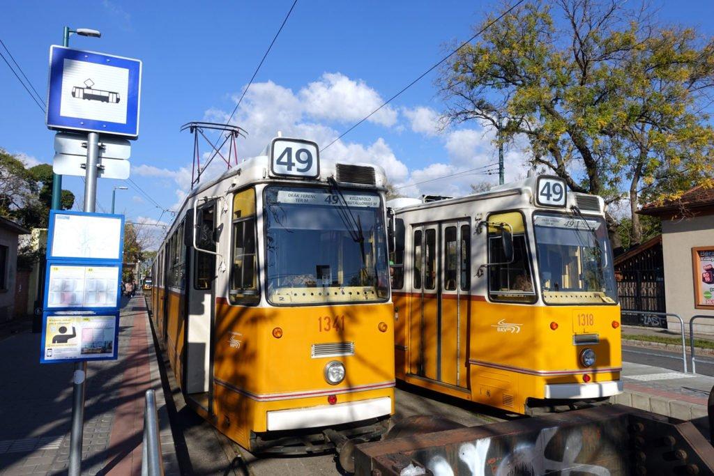 budapest light rail