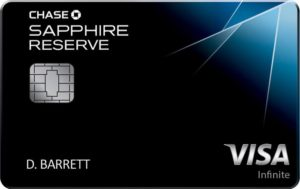 airport lounge access chase sapphire reserve credit card