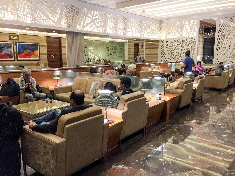 GVK Airport Lounge Mumbai