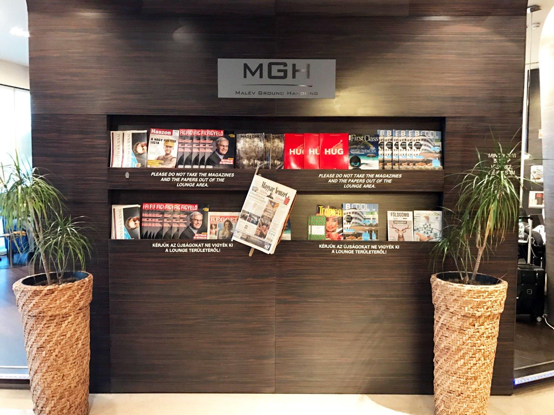 skycourt lounge budapest airport magazine