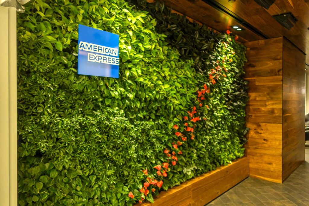 The entrance to Amex Centurion Lounge in Philadelphia