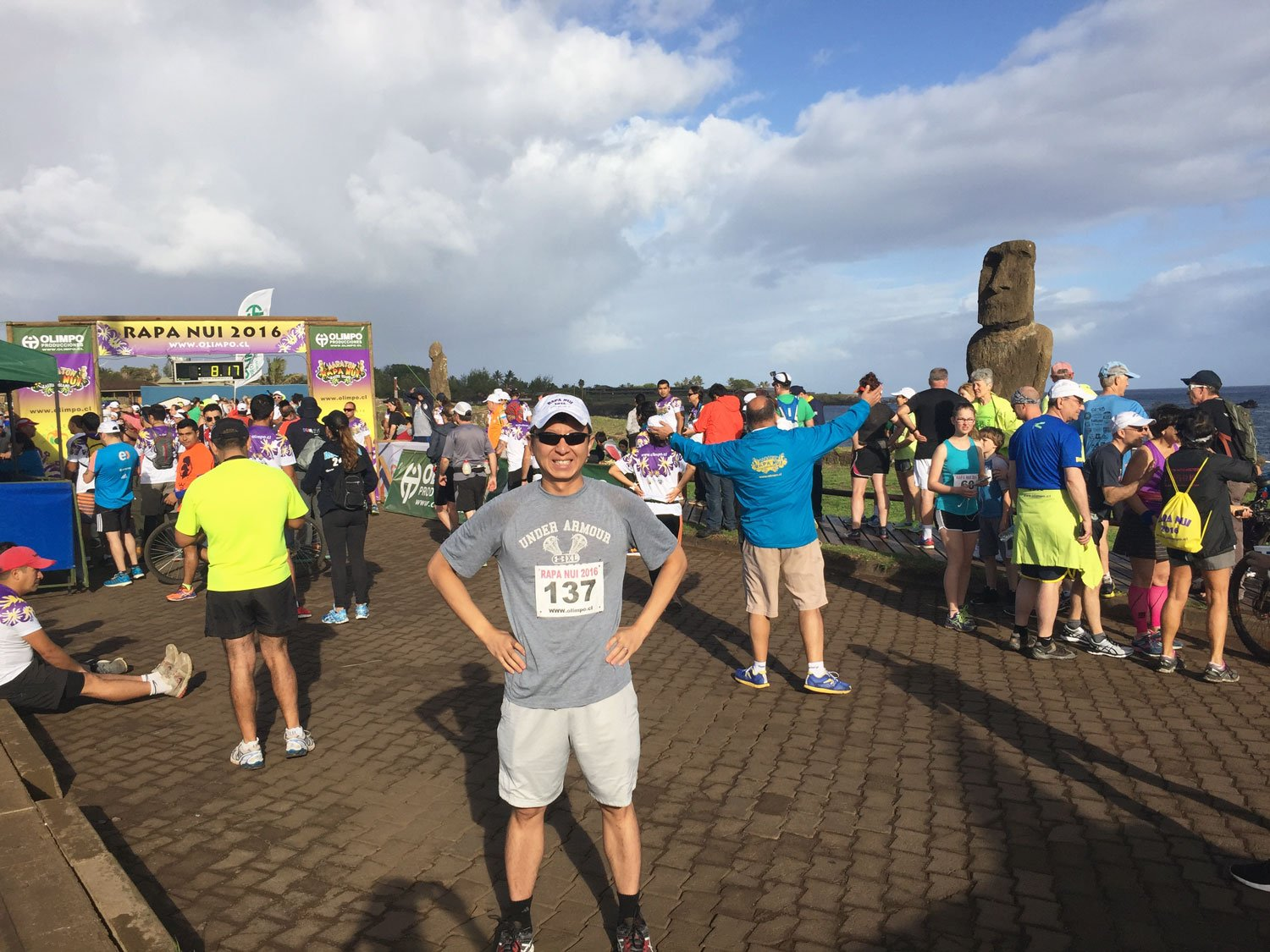 unusual things to do on easter island marathon 2016
