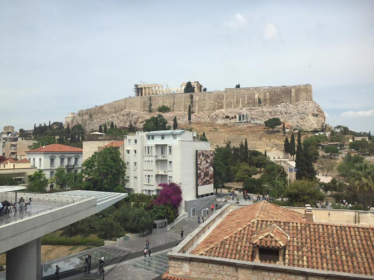 Ultimate Round the world bucket list - Acropolis Athens