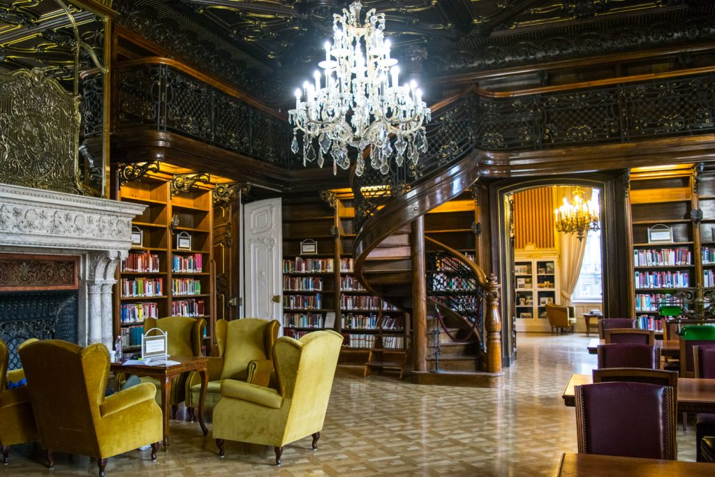 unusual things to do in Budapest Szabo Ervin Library