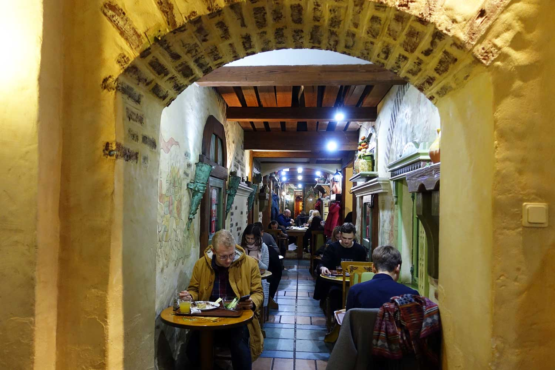 Belarus Food in Minsk Restaurants - Minsk lido interior