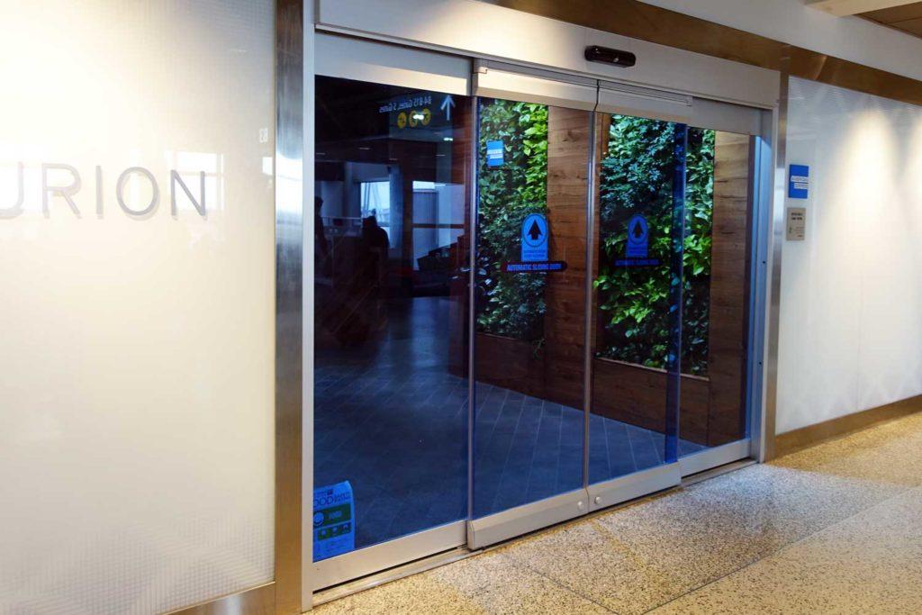 Centurion lounge entrance