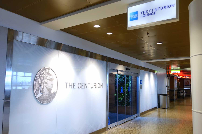 Centurion Lounge Seattle entrance