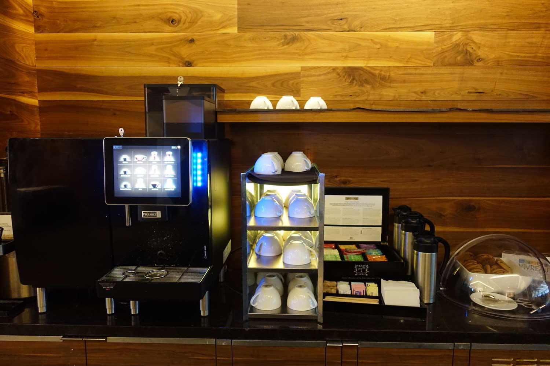 Centurion Lounge SFO coffee