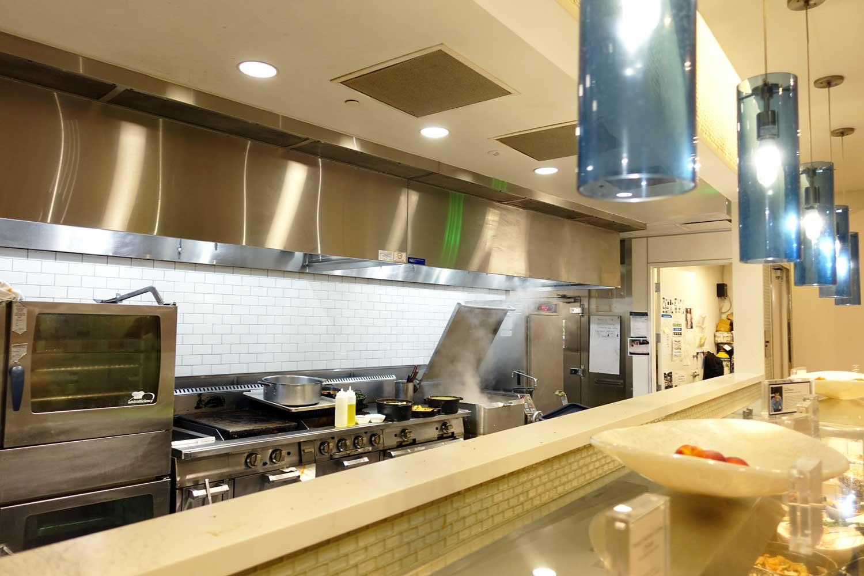 Centurion Lounge SFO kitchen