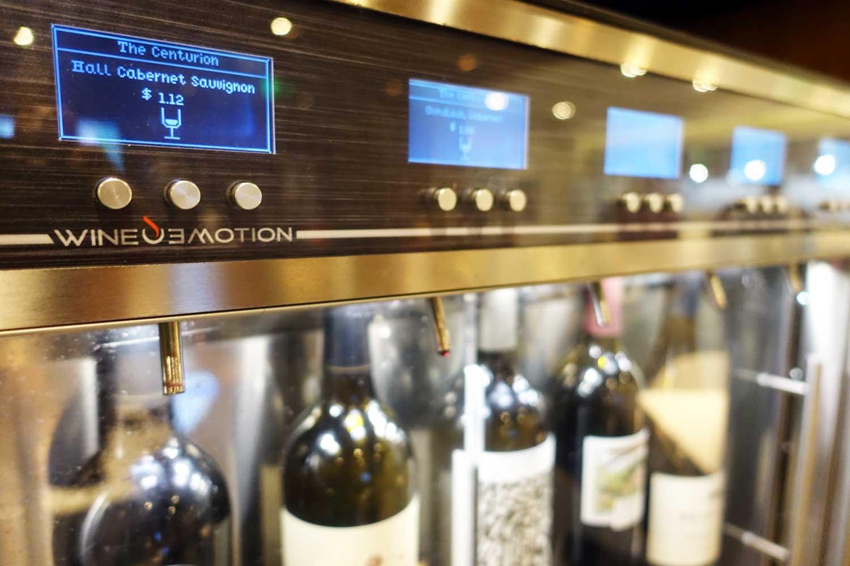 Centurion Lounge SFO Wine Tasting