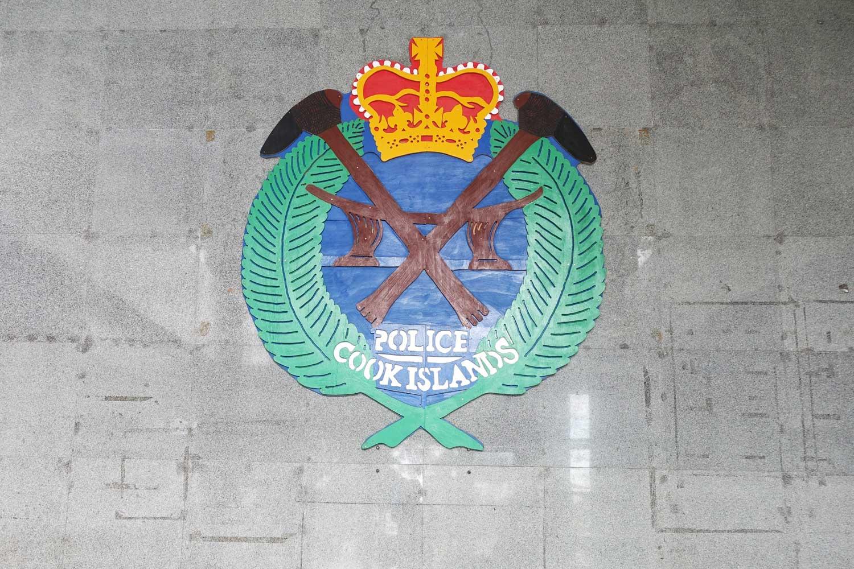 Cook Islands Drivers License police emblem
