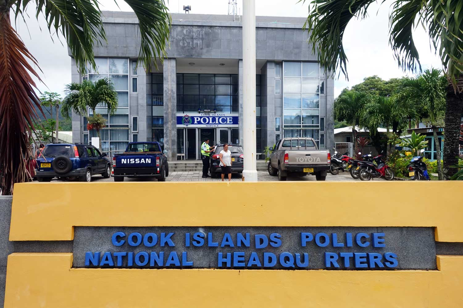 Cook Islands Drivers License Police Headquarters