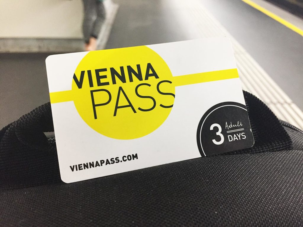 The Vienna pass card