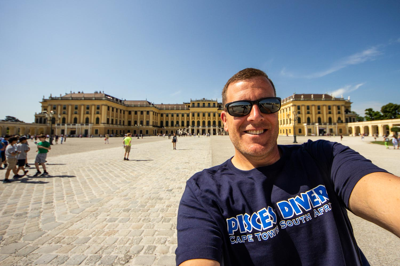 Michael at Schonbrunn palace