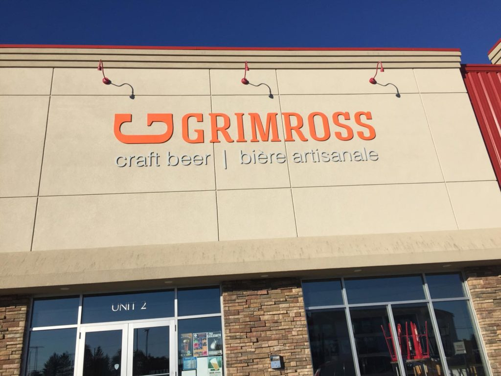 best craft beer in fredericton - grimross brewing