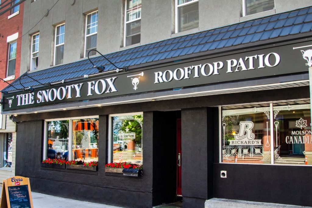 Best craft beer in Fredericton - Snooty Fox