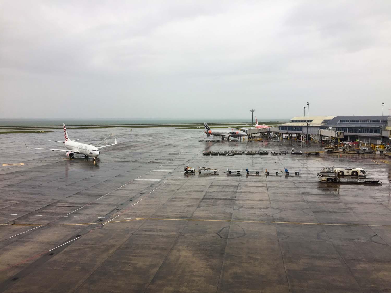 Air New Zealand International Lounge Auckland - view