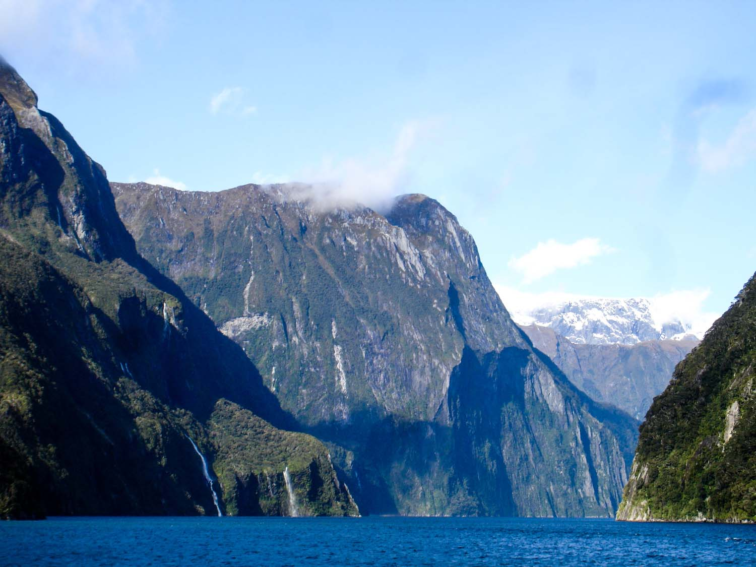 The Milford Sound fiord