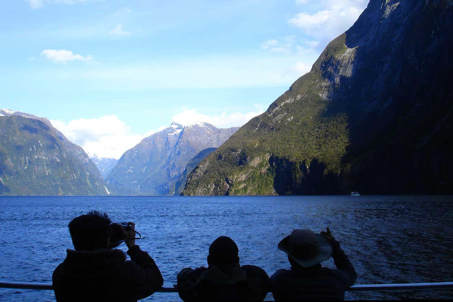 Queenstown to milford sound - view of milford sound