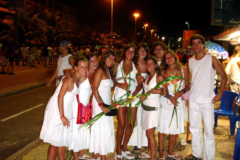 brazilian new years eve cariocas