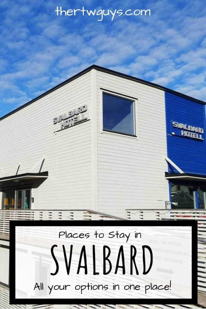 svalbard accommodations pinterest
