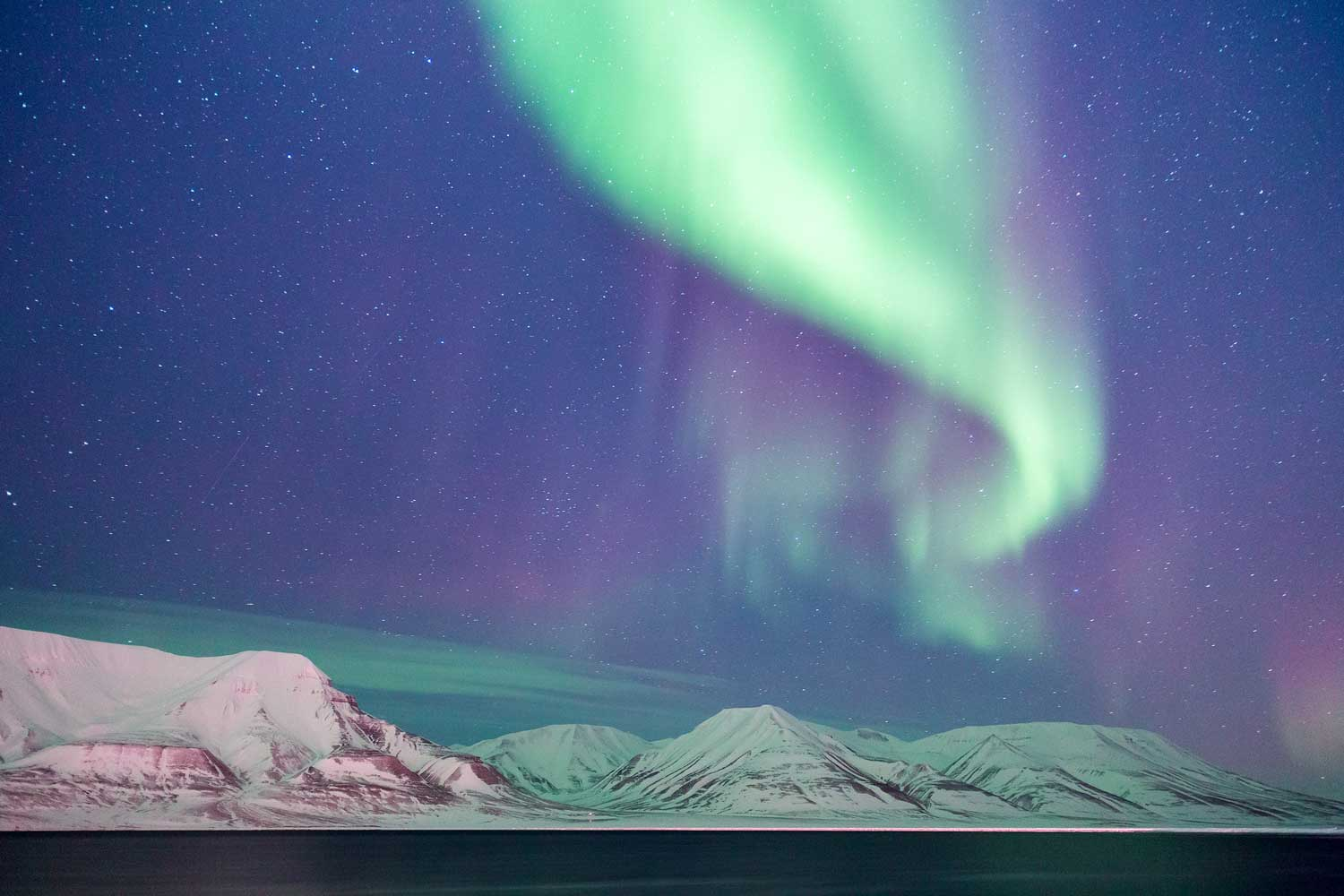 Svalbard Hotel - northern light