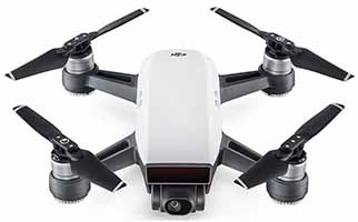 DJI Spark drone for travel vlogging