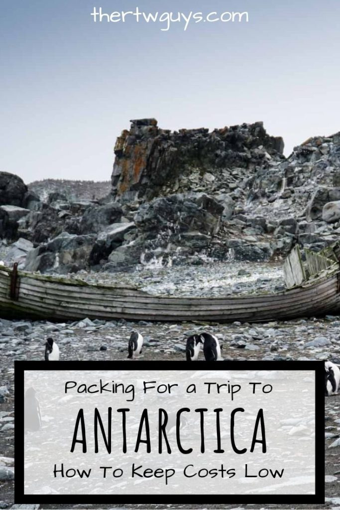 antarctica packing boat and penguins pinterest